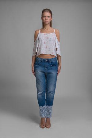 maglia, jeans