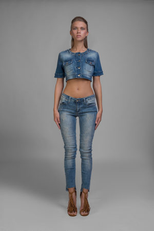 jeans, camicia