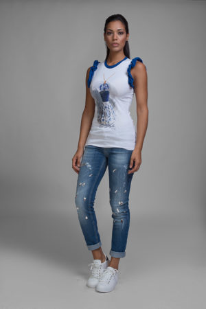 jeans, maglia