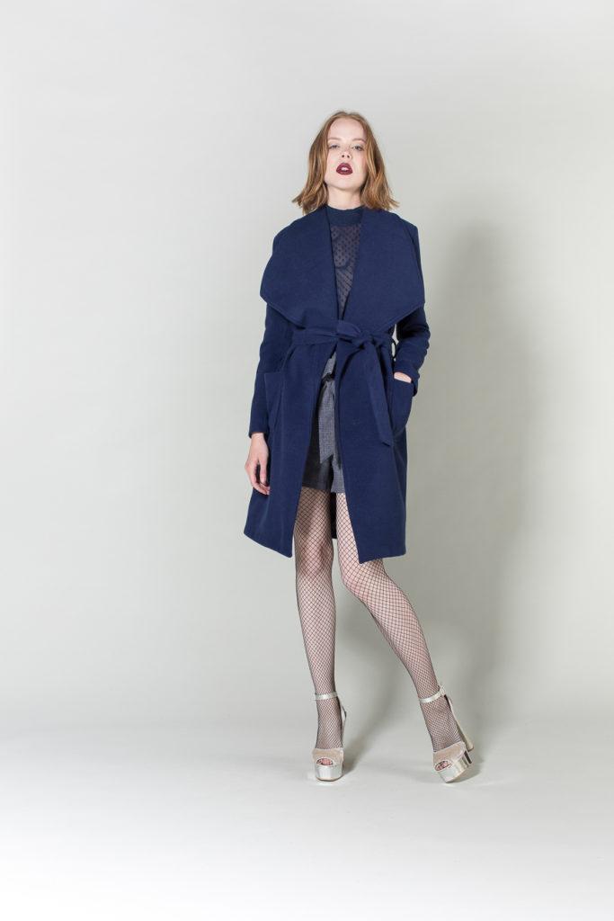cappotto, camicia, short H2O