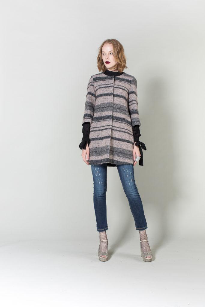 cappotto, camicia, jeans H2O