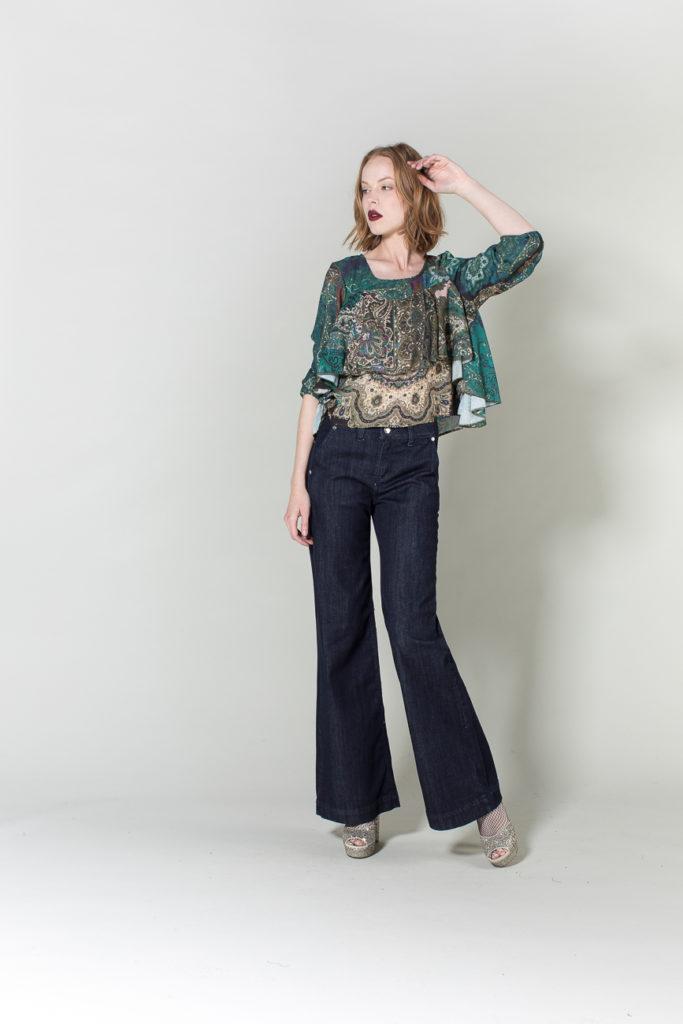 jeans, camicia H2O