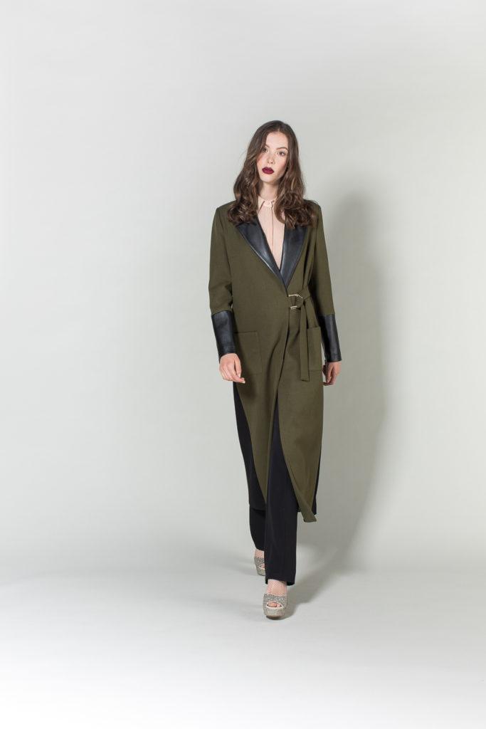 pantalone, camicia, cappotto H2O