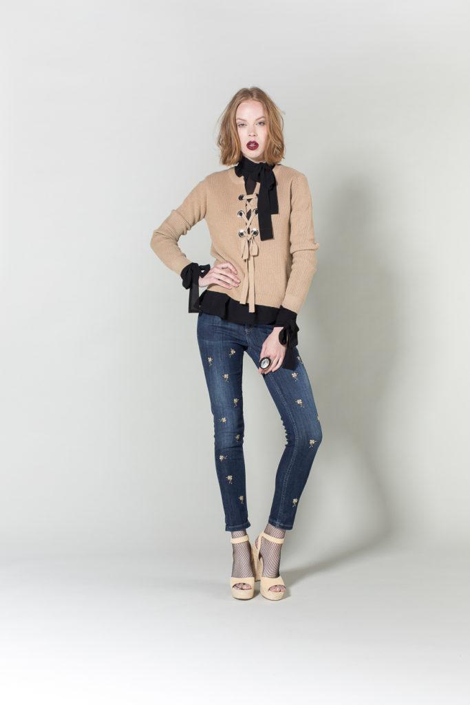 jeans, maglia, camicia H2O
