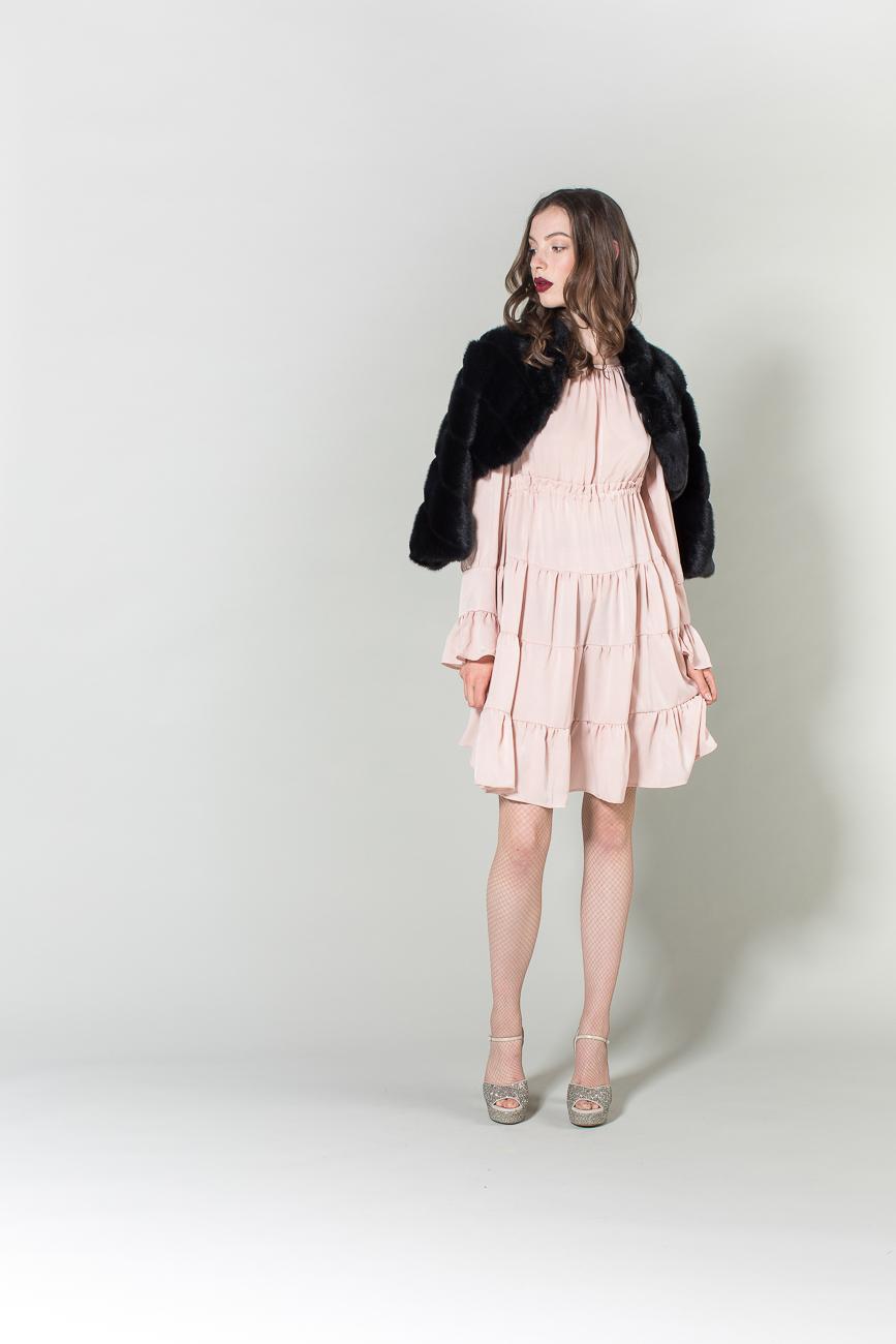 vestito, pelliccia H2O