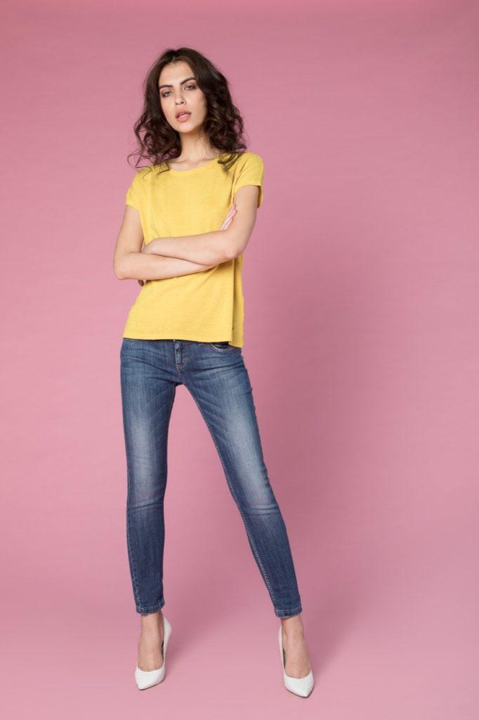jeans, maglia H2O