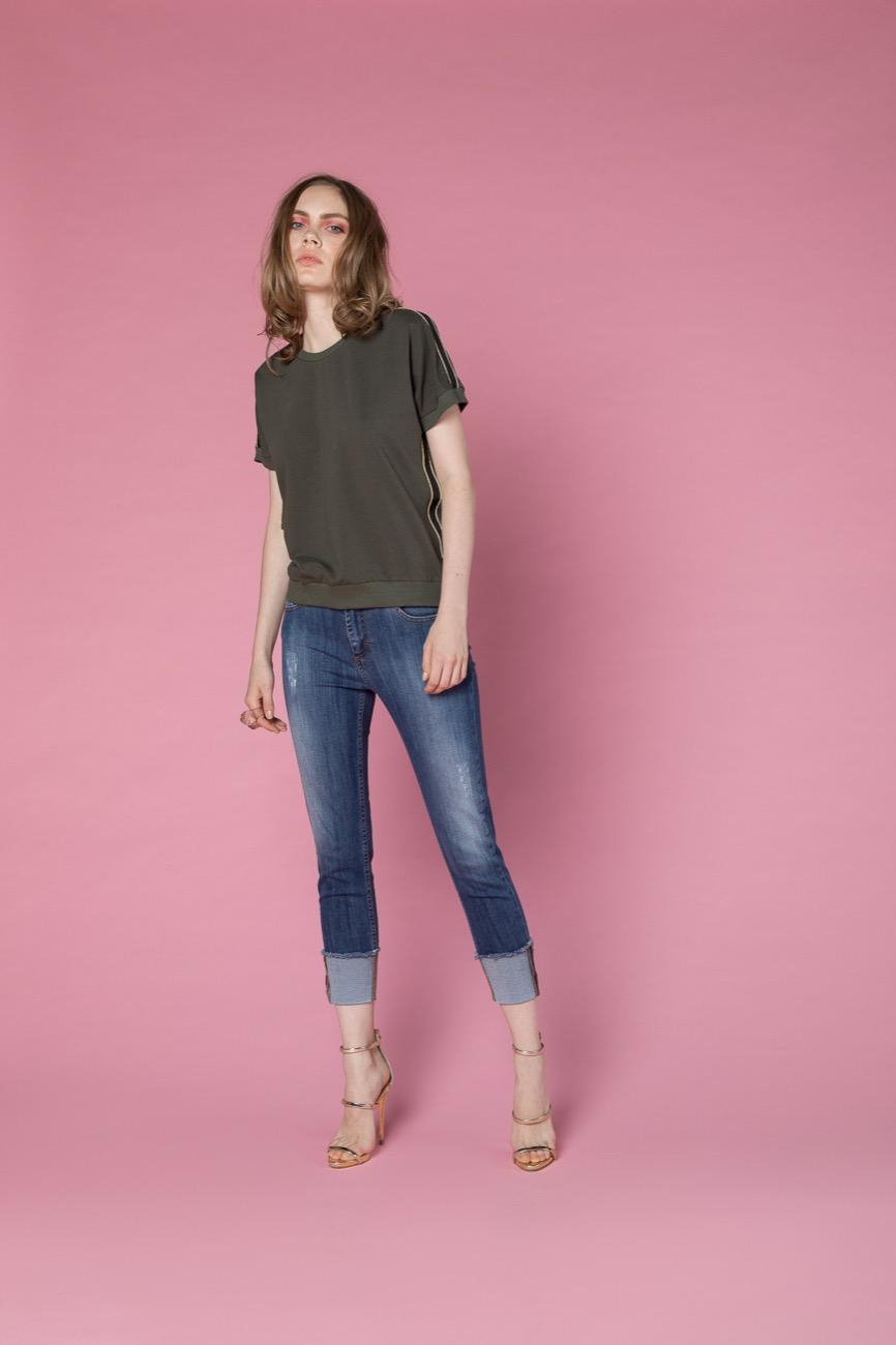 jeans, felpa H2O