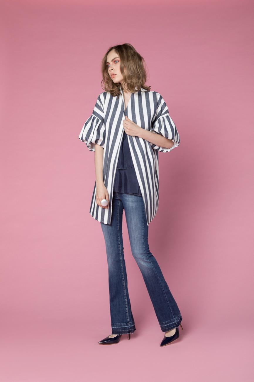 giacca, camicia, jeans H2O