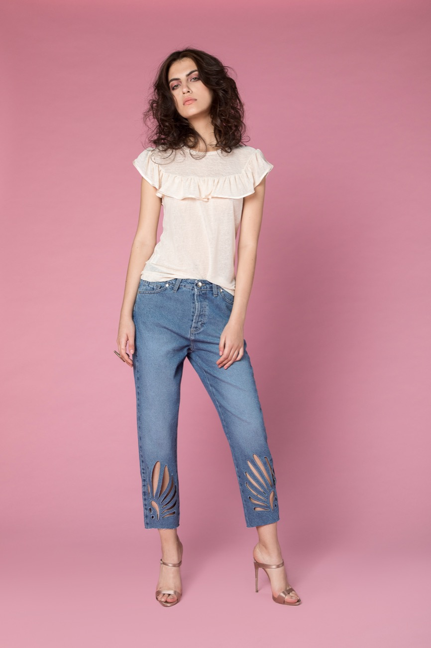jeans, t-shirt H2O