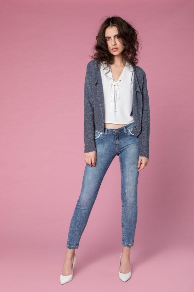 jeans, camicia, maglia H2O